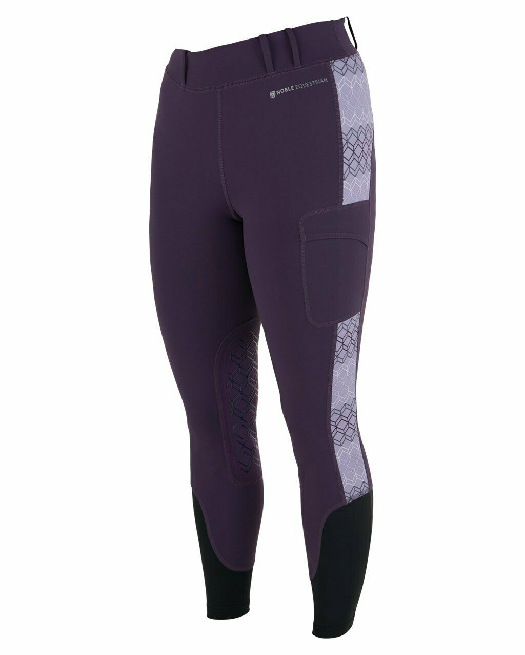 Noble Equestrian Ladies Printed Balance Riding Tight