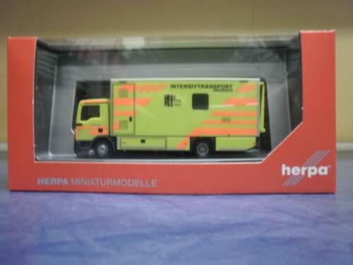 Herpa MAN TG-L Koffer-LKW I-RTW Feuerwehr Dresden 093347
