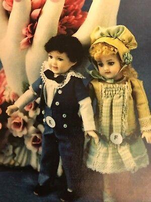 """Hat 24/"""" Antique Bisque Doll PATTERN Sailor Dress Undies    Kestner"""
