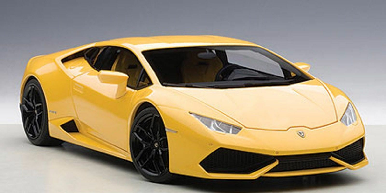 Autoart LAMBORGHINI HURACAN LP610-4 yellow MIDAS PEARL EFFECT YELLOW 1 18New