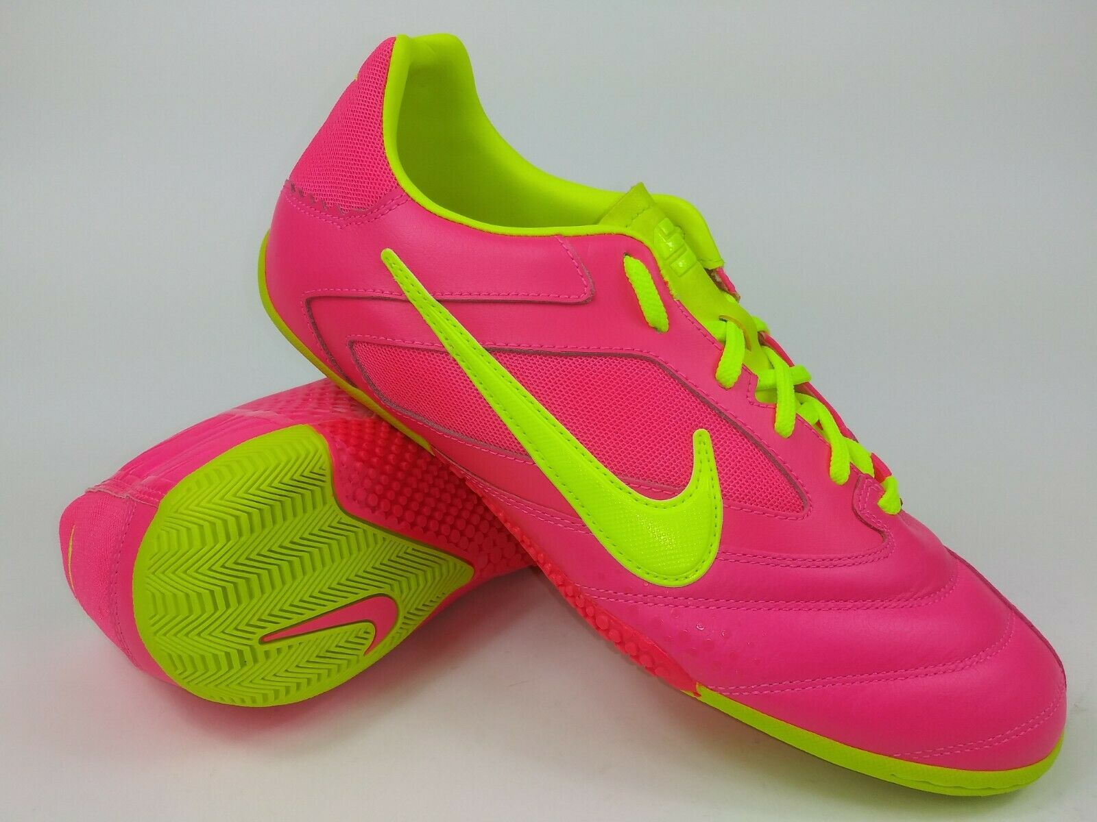 wholesale outlet multiple colors reliable quality Nike Mens Rare Nike5 Elastico PRO 415121-676 Pink Indoor Soccer ...