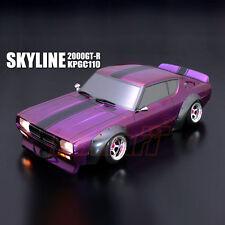 ABC Hobby NISSAN Skyline 2000GT-R KPGC110 200mm Body RC Car Touring Drift #66162