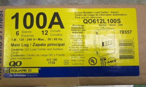 """SQUARE /""""D/"""" QO612L100S"""