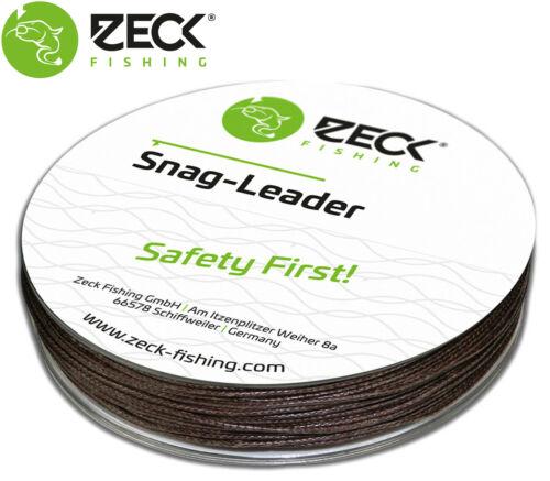 Angel Zeck Snag Leader 0,70mm 68kg 50m Schlagschnur für Wallerangeln 0,30€//1m