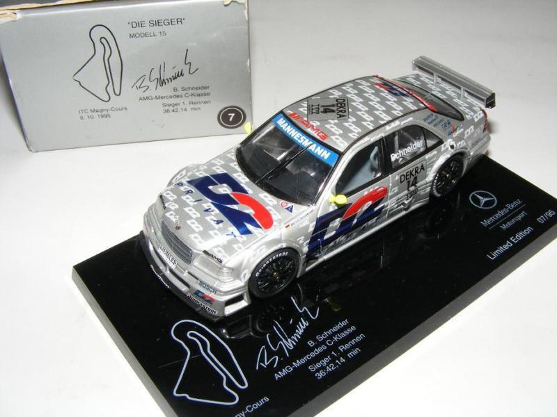 1 43 Minichamps AMG Mercedes C ITC 95  Die Sieger   15