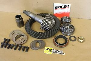 Details about Ring And Pinion Kit 3 73 Ratio Jeep Dana 44 Rear Axle Grand  Cherokee ZJ 96-98