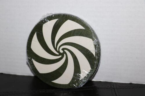 Longaberger 2009 Green Peppermint Twist Lid #51029 NEW