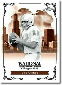 BOB-GRIESE-2013-LEAF-NATIONAL-EXCLUSIVE-COLLECTORS-PROMO-CARD