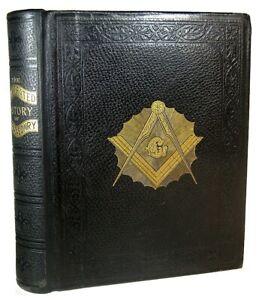 1908 FREEMASONRY HISTORY Antique MASONIC ILLUSTRATED KNIGHTS TEMPLAR OCCULT BOOK