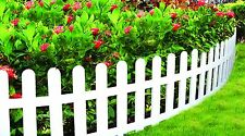 Worth Plastic Garden Fence Outdoor Edging Gates Guardrailing Protective Fencing