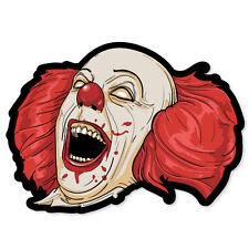 "Evil Clown car styling auto moto sticker 5"" x 4"""