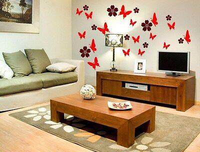 kid decals,bedroom,living room door Up to 35 Butterfly vinyl stickers for wall