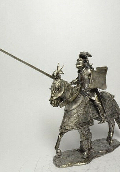 Tin soldier, figure. Knight in Tournament Armor, 1520 54 mm