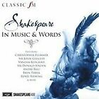 Shakespeare in Music & Words (2016)