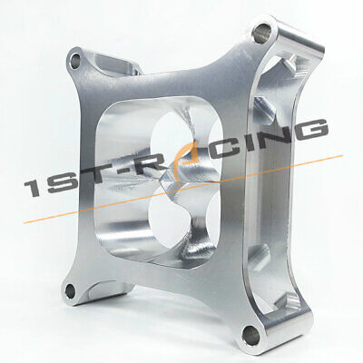 """PROFLOW BILLET 2/"""" SUPER SUCKER CARB SPACER HOLLEY 4150 ALLOY CNC MACHINED NEW"""