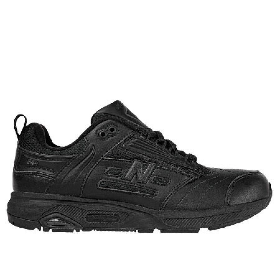 New Balance WW844BK Black Walking Shoes 7