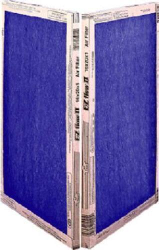 CASE OF 12 Flanders 20x25x2 Inch Spun Fiberglass Air Filters 10055.022025