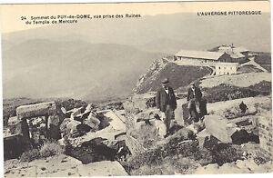 63-cpa-Sommet-du-PUY-DE-DOME-Vue-prise-des-ruines-du-temple-de-Mercure
