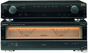 amp-gt-amp-gt-Technics-su-a909-Ex-Display-audiofilo-pre-power-Amplificador