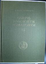 BANTI - SIMONETTI CNR Vol. IX: TIBERIO monete oro, argento, bronzo e coloniali