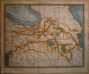 1838-Duvotenay-map-ANCIENT-ARMENIA