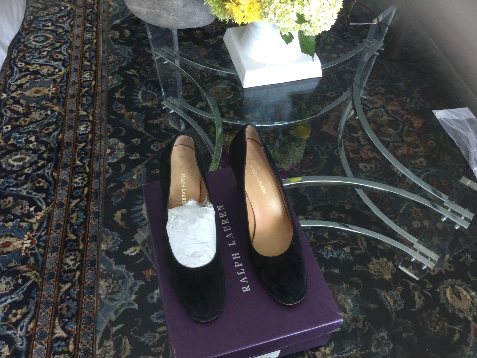 Men/Women Ralph Lauren Black Shoes 9 Complete specification specification Complete Comfortable touch Authentic guarantee bf66ef