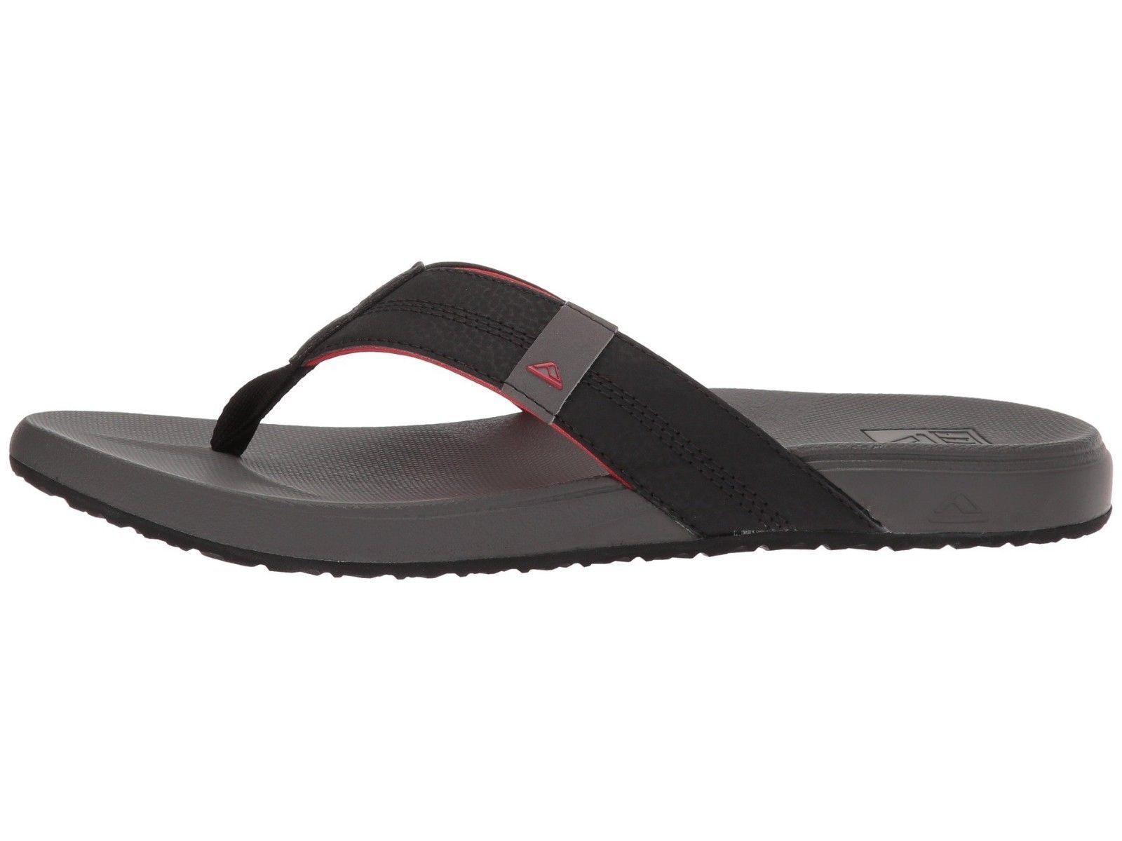 Reef / Cushion Bounce Phantom Grey / Reef Red Men's Sandals RF0A3FD1 dbb920