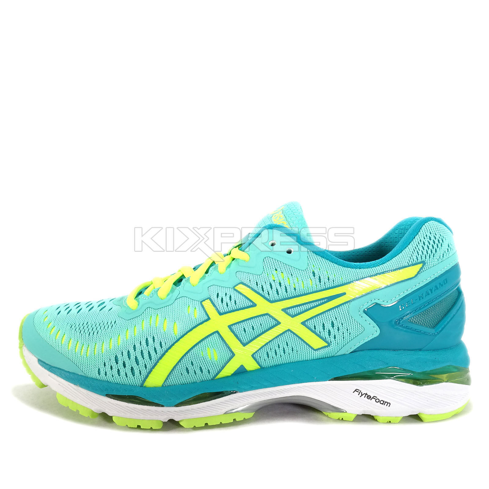 Asics GEL-Kayano  23 [T696N-3807] Running Green Volt-Teal  save on clearance