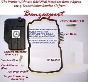 Transmission Fluid Exchange Adapter Genuine for Mercedes C300 CLS550 GLE450
