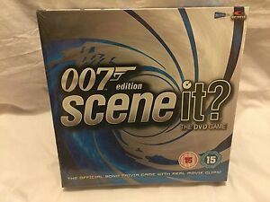 007 Scene It DVD Game  Sealed - <span itemprop=availableAtOrFrom>Stoke on Trent, Staffordshire, United Kingdom</span> - 007 Scene It DVD Game  Sealed - Stoke on Trent, Staffordshire, United Kingdom