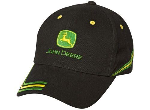 Genuine Deere Nero Champion John Berretto Da Baseball Cappello Adulti MCJ099399133