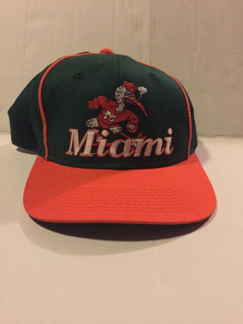 Vintage Miami Hurricanes Snapback The Game Wow Rare  d116a3172928