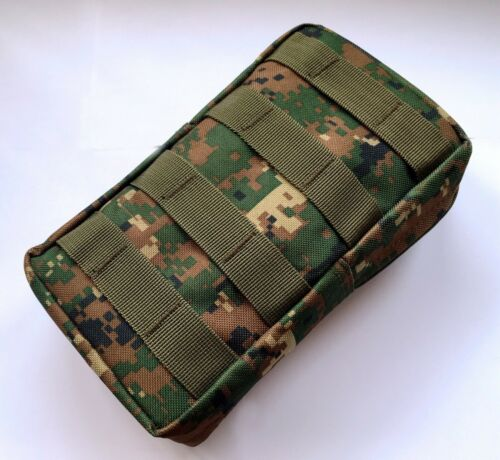 New Airsoft Molle Vertical Webbing Utility Accessories Pouch Coyote//Marpat