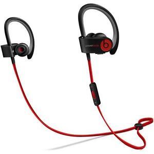 Beats by Dr. Dre Powerbeats2 Wireless In-Ear Only Headphones Black Refurbished