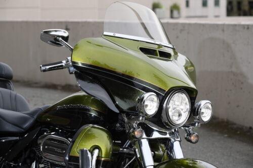 "Harley Davidson 10/"" clear windshield Street Glide//Electra Glide//Ultra 2014-2019"