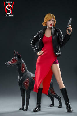 SWTOYS 1//6th FS026 Alice 3.0 Female Figure /& Zombie Dog Model Set Collectible