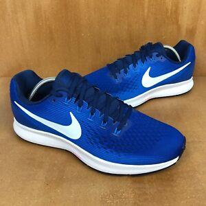 Nike Air Zoom Pegasus 34 Azul Índigo fuerza Blanco para ...
