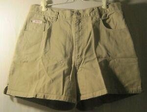 Bill-Blass-Jeans-Size-14-Beige-High-Waist-Jean-Shorts