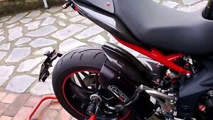 Triumph Speed Triple 1050 Exhaust GPR Furore Carbon Look  Road Legal 201115 - <span itemprop=availableAtOrFrom>Nottinghamshire, United Kingdom</span> - If goods are supplied correctly and in good condition we reserve the right to charge a restocking fee if they are returned. The Buyer pays the return postage and is responsible fo - Nottinghamshire, United Kingdom