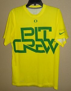 new concept da2d7 a959e Details about NEW MENS S NIKE OREGON DUCKS PIT CREW DEEP IN THE WOODS  BASKETBALL SHIRT RARE