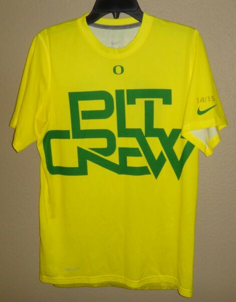 336b62499ae NEW MENS S NIKE OREGON DUCKS PIT CREW DEEP IN THE WOODS BASKETBALL SHIRT  RARE