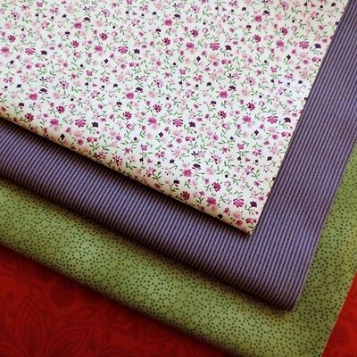£1 Quilters Basic Collection Small Prints Cotton Discontinue Fabrics CLEARANCE