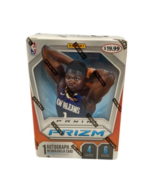 🔥NEW 2019-20 Panini Prizm Basketball 6-Pack Sealed Blaster Box - Zion, Ja RC?🏀