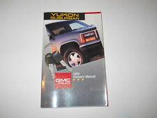 1992 GMC Yukon Suburban Owner/'s Manual Owners  Truck