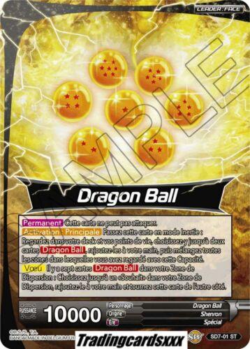 Apparition miraculeuse VF SD7-01 ST Foil ♦Dragon Ball Super♦ Shenron