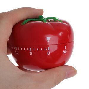 Home & Garden Responsible Kitchen Timer Baking Alarm Clock Tomato Reminder Tomato Clock Mechanical Countdown Timer Alarm Clocks