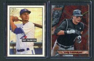 TROY-TULOWITZKI-2011-BOWMANS-BEST-INSERT-AND-2017-TOPPS-GALLERY-HERITAGE-LOT