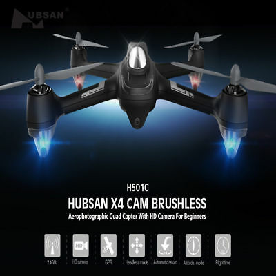 Cheap Price Hubsan X4 H501c Rc Quadcopter W/1080p Brushless Headless Gps One-key Return Rtf Radio Control & Control Line
