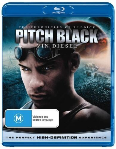 1 of 1 - The Chronicles Of Riddick: Pitch Black - Blu-ray Like New - Vin Diesel