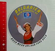 Aufkleber/Sticker: Bulgarien - Neckermann Reisen (100816133)